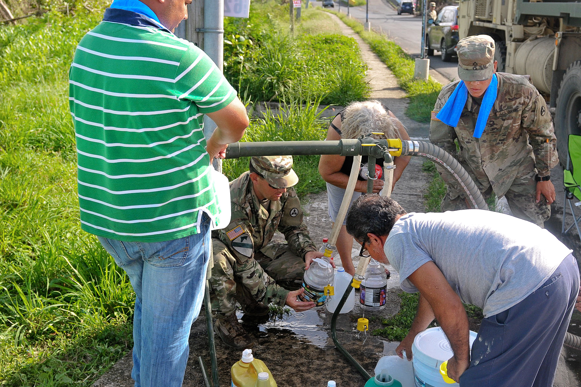 usnorthcom continues puerto rican relief efforts