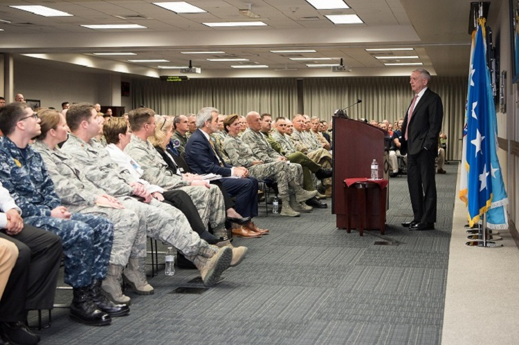 SECDEF visits NORAD, U.S. Northern Command