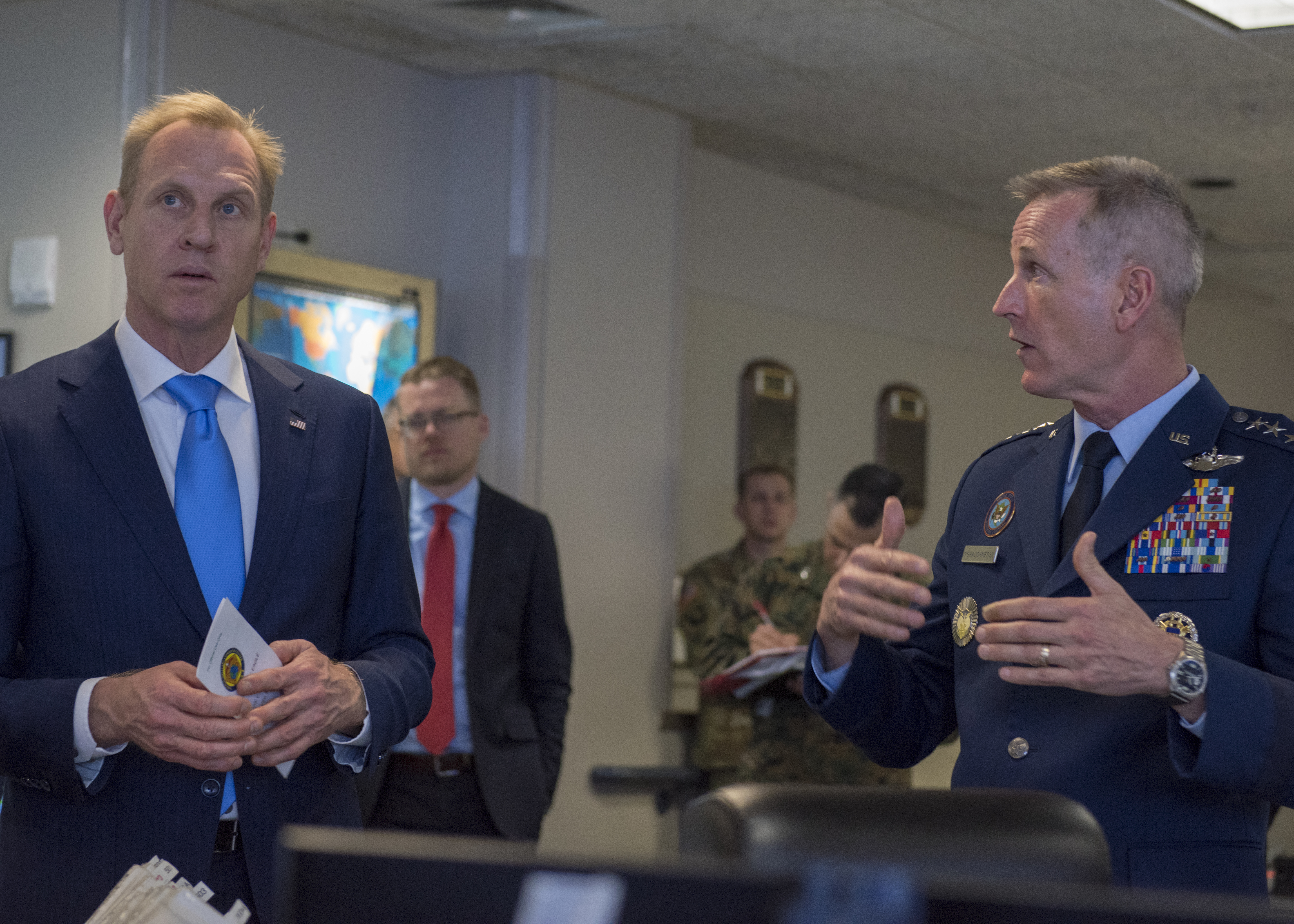 Acting SECDEF visits NORAD and USNORTHCOM