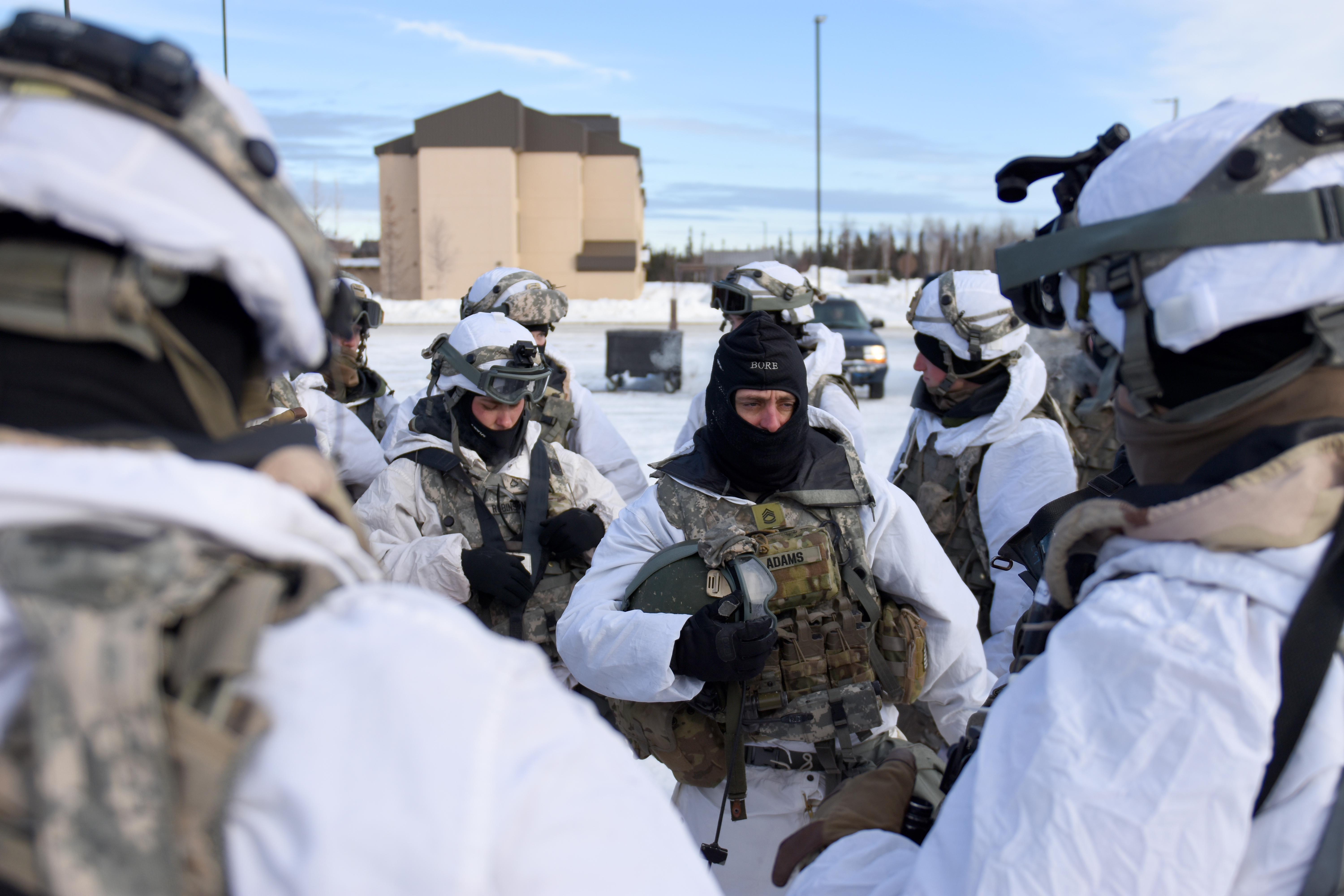 Exercise Arctic Edge 2018