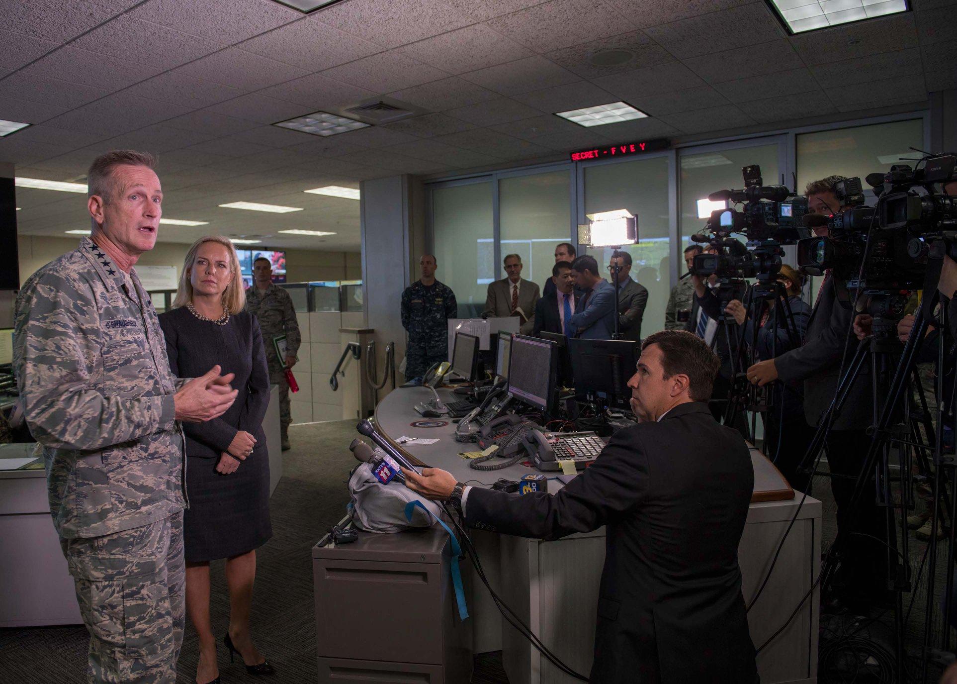 DHS Secretary visit