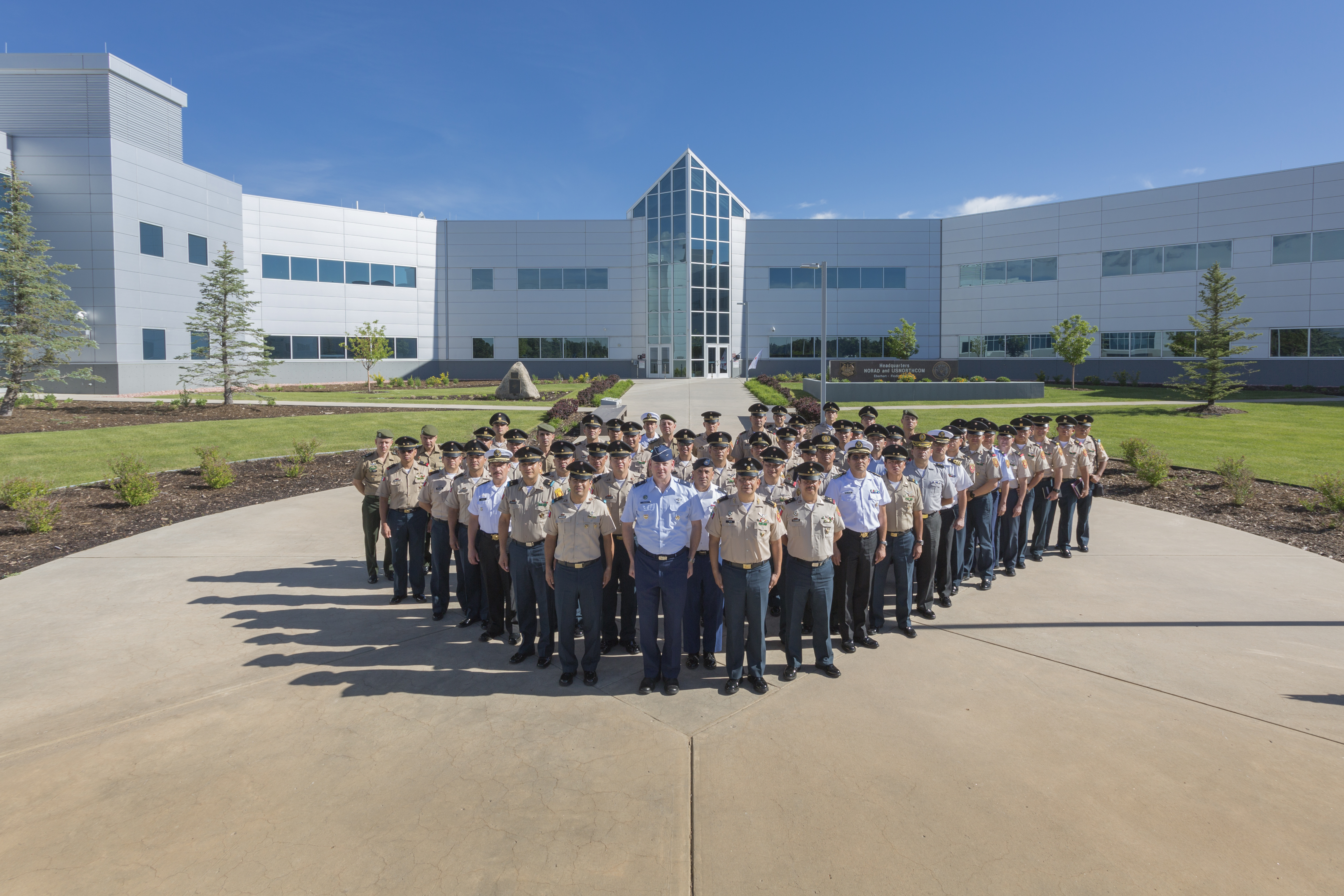 Mexican Military Service College Visits U.S. Northern Command