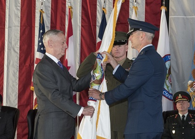 NORAD and USNORTHCOM Change of Command